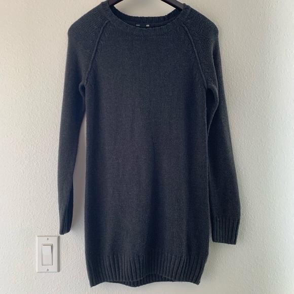 H&M Dresses & Skirts - H&M Grey Sweater Dress
